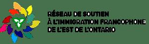 Logo Réseau de soutien à l'immigration francophone de l'Est de l'Ontario